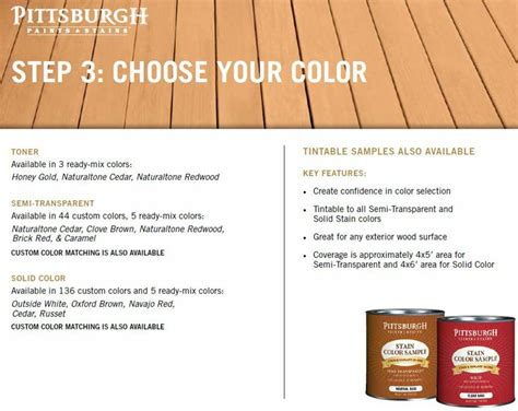 wood  deck stain images  pinterest paint