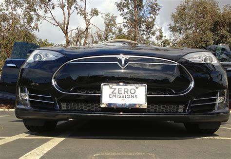 Tesla Plates Most Popular Tesla Model S Front License Plate Solutions