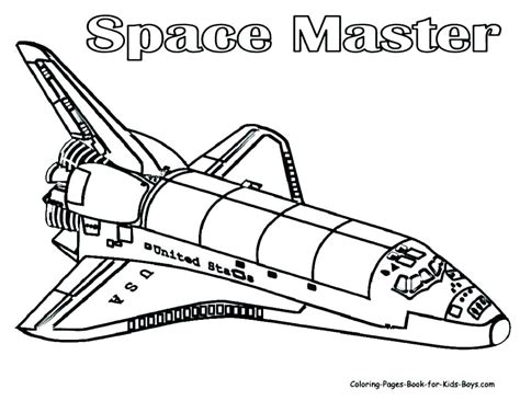 Spaceship Coloring Pages To Print by Rocket Coloring Pages Wars Spaceship Outer Space Page