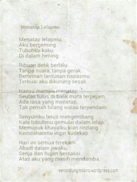 puisi puisi cinta puisi singkat indonesia puisi