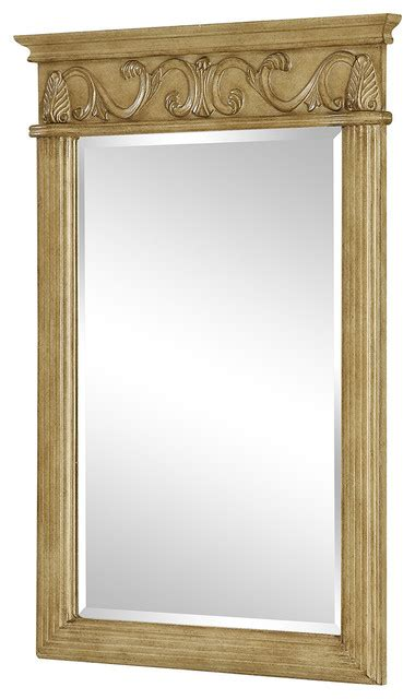 traditional bathroom mirrors vanity mirrors antique beige traditional bathroom