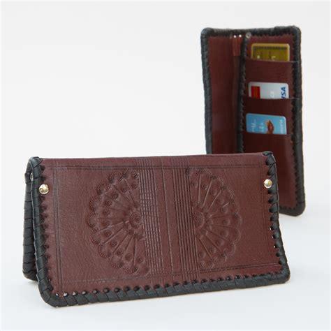 Wallet Handmade - western handmade wallet four winds west