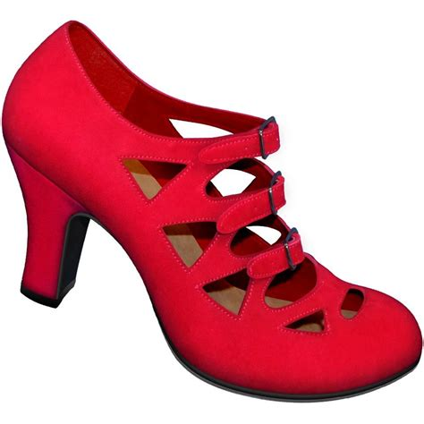 aris allen swing dance shoes aris allen 1940s women s red criss cross 3 buckle pump