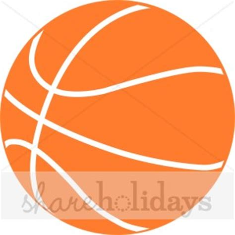 Orange Basketball Clipart Party Clipart Backgrounds Basketball Logo Template Free