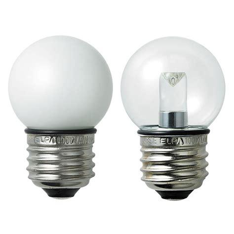エルパ elpa 防水型 ledミニボール電球 g40 小丸電球 e26口金 屋外用 激安価格販売 アカリセンター