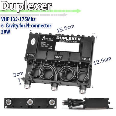 Duplexer Vhf 20w n connector duplexer vhf 6 cavity 409shop walkie talkie buy two way radio wholesale retail