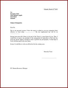 Exles Of Resignation Letters For Personal Reasons by Best Resignation Letter For Marriage Reason Cover Letter Templates