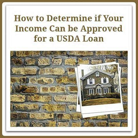 Usda Loan Approval Letter Determine If Your Income Can Be Approved For Usda Loan