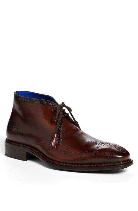 chukka boot mezlan rosate chukka boot in brown for lyst