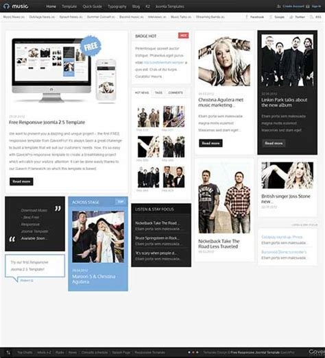 create your own joomla template 20 best joomla templates free premium