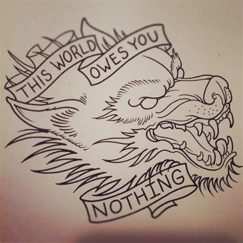 tattoo flash wolf wolf tattoo on tumblr