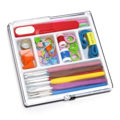 Alat Rajut Paket Alat Rajut Lengkap Kotak Crafts