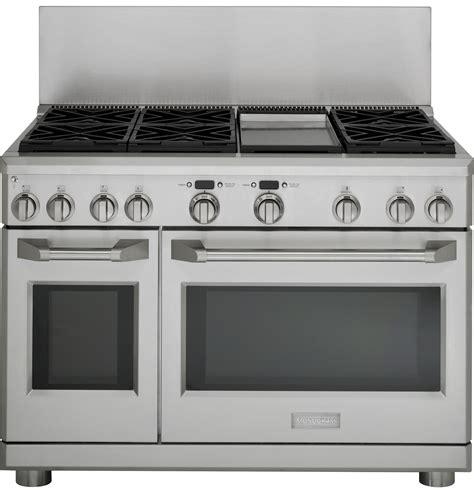 ge monogram cooktop parts zdp486ndpss monogram 48 quot dual fuel professional range
