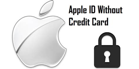 make a apple id without credit card how to make apple id create apple id free without a