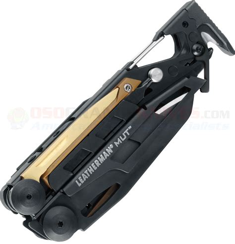 Emerson Large Multi Brown leatherman 850032 mut eod black oxide finish coyote brown