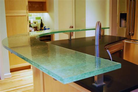 modern countertops glass countertops for modern kitchen ideas eva furniture