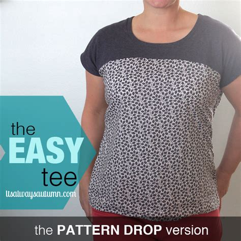 easy t shirt pattern free 9 free women s pdf shirt patterns craft buds