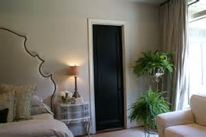 interior doors for home black painted interior doors why not homesfeed