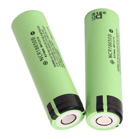 Battery Baterai Panasonic Ncr 18650 3400 Mah L Ion Original 100 panasonic ncr18650b li ion battery 3400mah 3 6v 30a with flat top green jakartanotebook