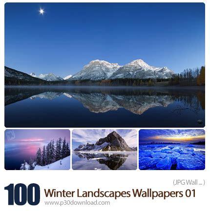 Set Snowy winter snowy winter landscape set a2z p30