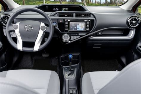 Prius C Interior by 2016 Toyota Prius C Overview The News Wheel