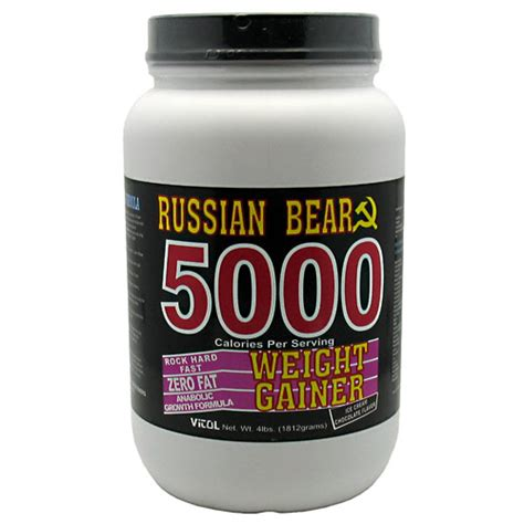 russian weight russian 5000 weight gainer 4lb get bigger now vitol2 58 75