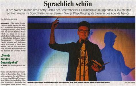 Poetry Slam Dresden 2016 by Gesamtschule Schermbeck