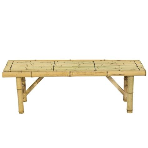 bamboo bench bar best choice products bamboo bench tiki tropical coffee
