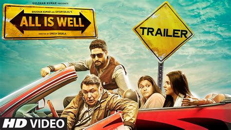 All Is Well all is well official trailer abhishek bachchan asin