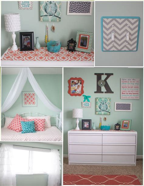 Mint And Coral Home Decor 88 Best Images About Spare Bedroom Ideas On