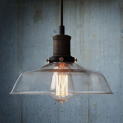 Retro Glass Pendant Lights Vintage Industrial Pendant Light Glass Tudo And Co