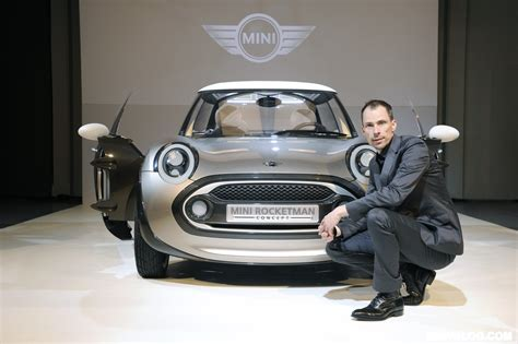 Mini Movers Concepts exclusive preview of the mini rocketman concept during milan fashion week 2011