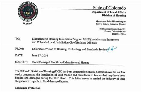 colorado division of housing what happened to flooded trailers timeline timetoast timelines