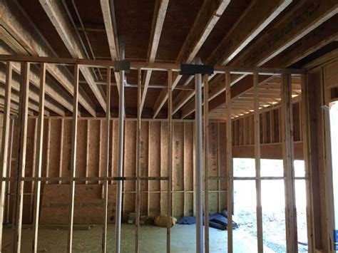 Garage Framing Basics by The Difficulty Of Stopping Air Leakage Between The House