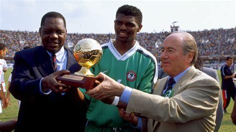 nwankwo kanu player of the year 1999 goal