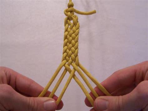 seil flechten anleitung 2 for a 6 strand flat braid sca crafts