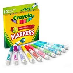 crayola 174 markers broad line 10ct pastel target