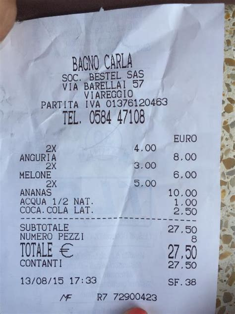 Bagno Carla Viareggio by Bagno Carla Viareggio Restaurant Avis Num 233 Ro De