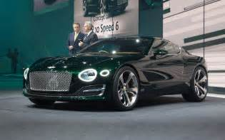 Bentley News Now That S More Like It Bentley Exp 10 Speed 6 Points To