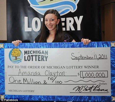 here are the top 10 richest michigan lottery winners in history mlive amanda clayton 1m lottery winner still collecting welfare daily mail