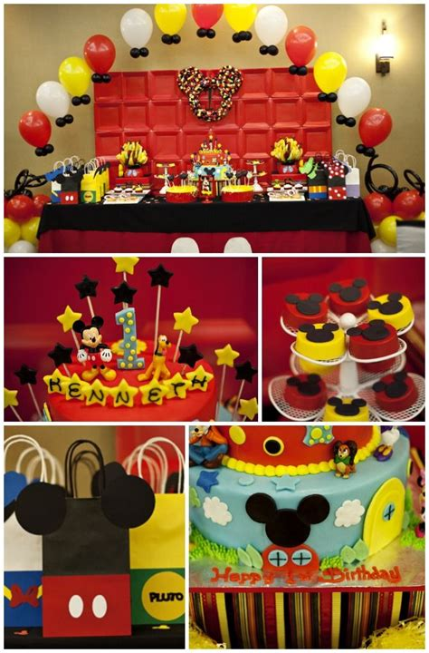 Mickey Mouse Birthday Decorations by Here Are Some Great Mickey Mouse Birthday Ideas