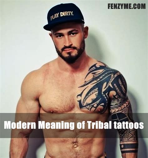 tattoos that mean strength for men tribal tattoos meaning strength and courage