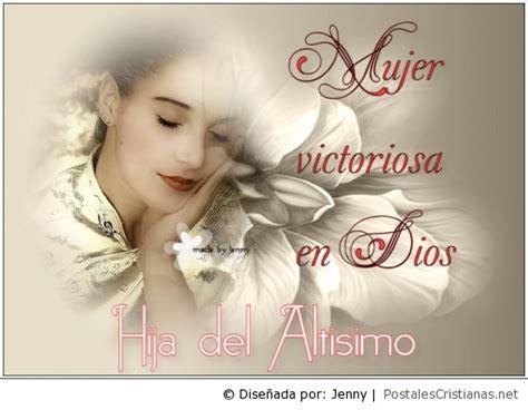 M Ujer Cristiana Ministerio Mujeres En Victoria | postal mujer victoria en dios postales cristianas