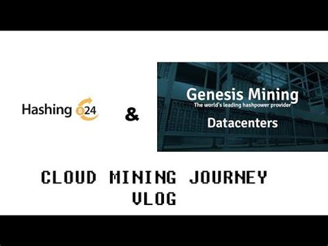 Hashing24 Makes Cloud Mining Inclusive by Starting My Cloud Mining With Genesis Mining Hashing24
