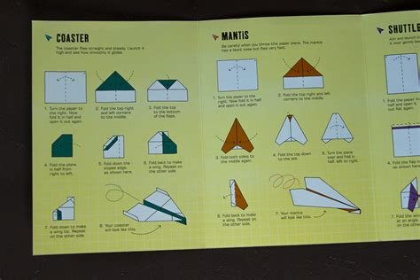 How To Make A Paper Airplane Turn Right - 100 more paper planes to fold fly peek inside