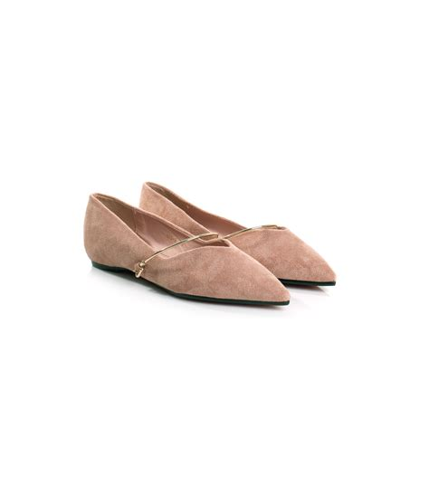 Pointy Bow Flats bowbow bangle pointy ballet flats