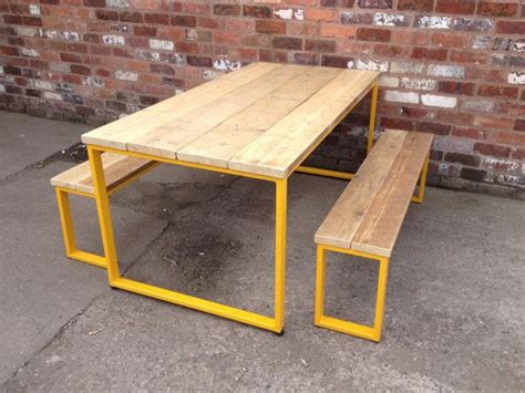 diy industrial style dining table 17 best ideas about outdoor tables on garden