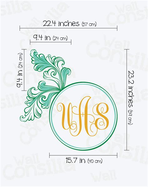personalized nursery wall decor personalized floral monogram nursery wall decor