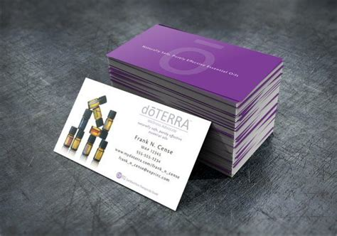 doterra business card template 25 best ideas about doterra business cards on