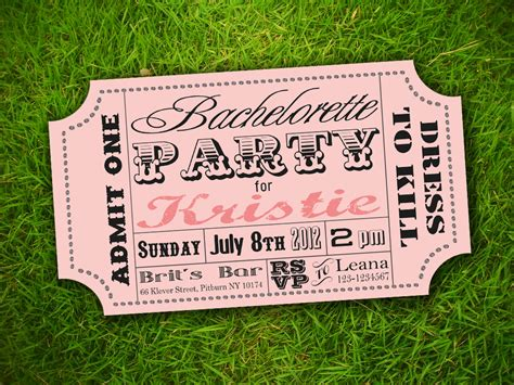 ticket invite template etsy template2